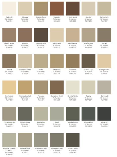 ralph lauren paint color swatches ralph lauren paint collection naturals paint rooms