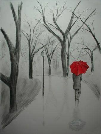 Rainy Day Pencil Art Sketches Drawings