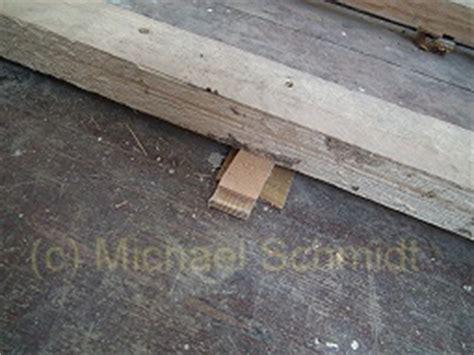 Fußboden Unterkonstruktion Holz by Anleitung Dielenboden Verlegen Die Heimwerkerseite De
