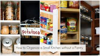 small kitchen pantry organization ideas ideas to organize every area in your home