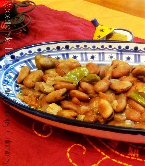 cuisiner feves comment cuisiner les feves fèves à la marocaine chez