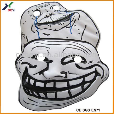 Troll Meme Mask - custom hot selling carnival pvc meme party face mask buy meme face mask pvc meme party face