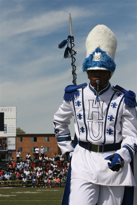 drum major hampton university marching force band flickr