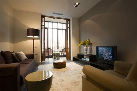 A Stylish Apartment With Classic Design Features : Modern Classic Style Interior Design In Old Part Of