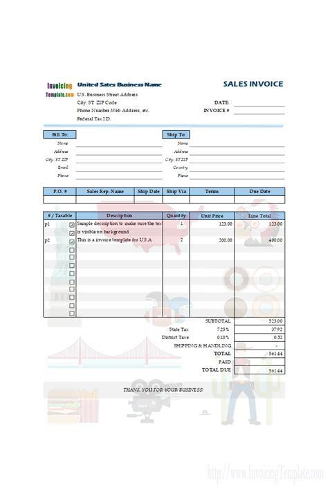 customizing invoice template