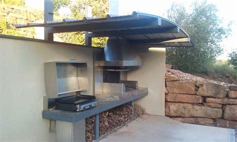idee cuisine d ete cuisine d été extérieure en beautiful barbecue fixe