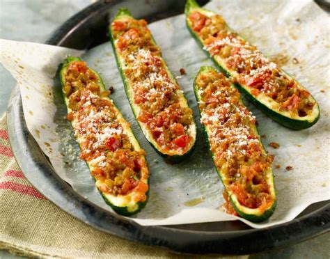 Stuffed Zucchini Boats Food Network by 25 Healthy Post Holiday Recovery Recipes Food Network Canada