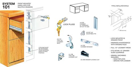 led garage fixtures timberline system 101 front mounted cabinet lock