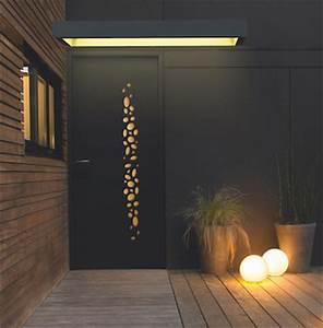 Portes d'entrée contemporaines sur mesure PVC, bois, alu, acier et mixtes Komilfo
