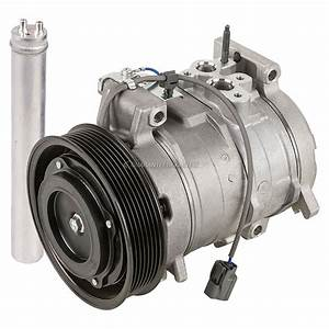 Oem Ac Compressor W   A  C Drier Fits Honda Accord 2003 2004 2005 2006 2007