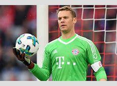 Bayern Munich goalkeeper Manuel Neuer ruled out until 2018