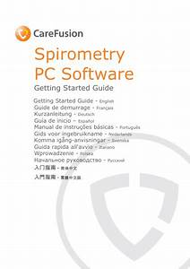 Carefusion Spirometry Pc Software Getting Started Guide