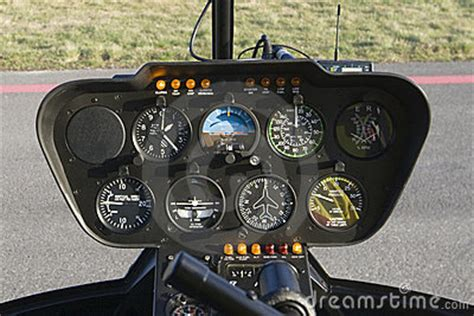 helicopter dashboard royalty  stock photo image