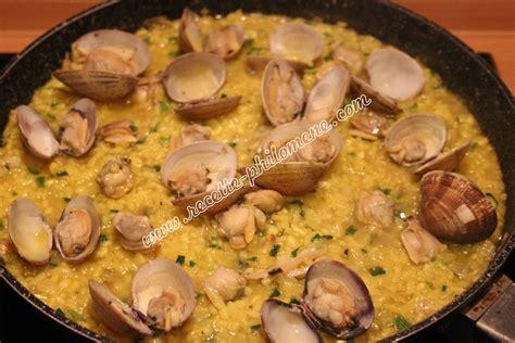 cuisiner palourdes risotto recette