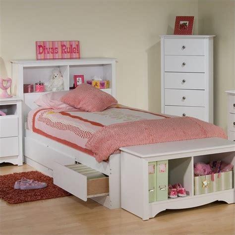 twin bookcase storage bed white twin bookcase platform storage bed wbt 4100 kit