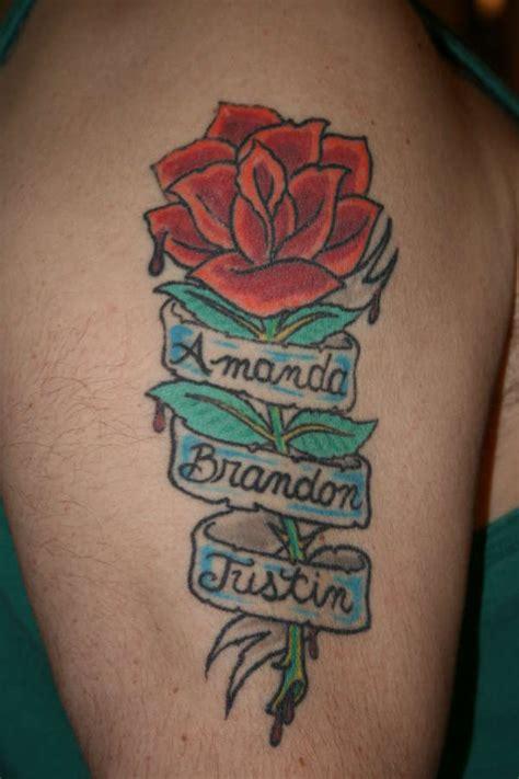 rose  names tattoo