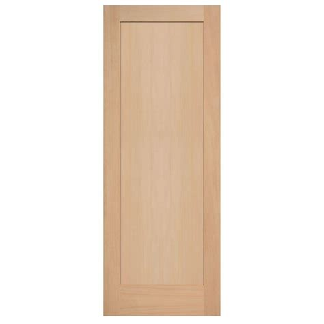 home depot solid wood interior doors masonite 40 in x 84 in unfinished fir veneer 1 lite