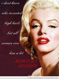 Marilyn Monroe Quotes About Lipstick QuotesGram