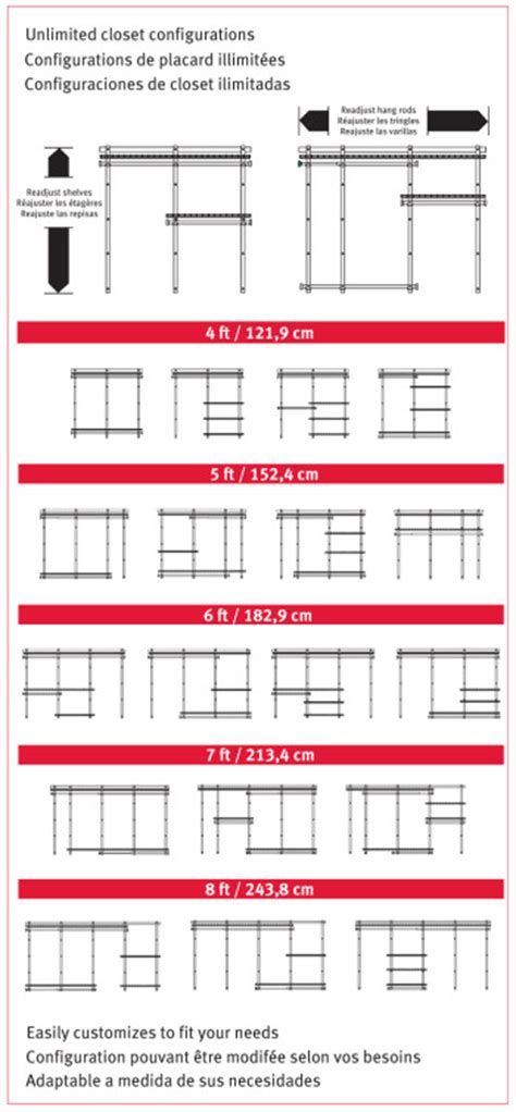 rubbermaid configurations closet kits 4 8 ft