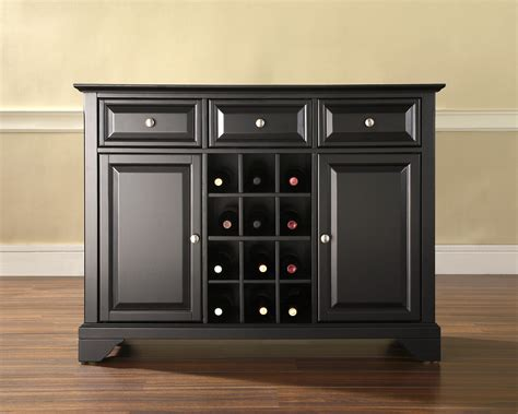 Wine Sideboard by Crosley Lafayette Buffet Server Sideboard Cabinet With