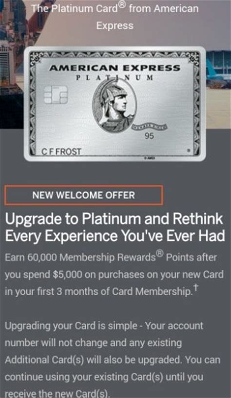 American express is offering some amex everyday cardholders a bonus of 25,000 points when they upgrade to the everyday preferred p2 has amex everyday card and amex everyday preferred. YMMV 60,000 Point Upgrade Offer To American Express ...