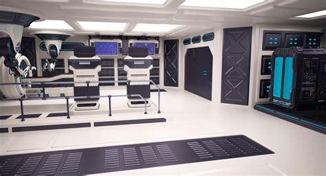 Sci Fi Laboratory 3d Model