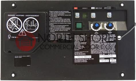 Mmtc Garage Door Opener Wiring Diagram by Craftsman 41a4252 12 Garage Door Opener Circuit Board