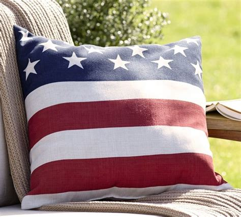 american flag outdoor pillow modern outdoor cushions