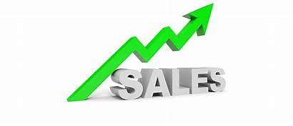 Sales Graph Arrow Increase Knowledge Science Illustration