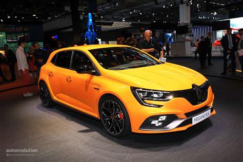 renault megane sport 2018 renault megane rs is the best hatchback at iaa