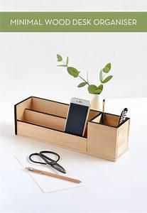 Schreibtisch Organizer Basteln : make it minimal wood desk organizer diy wood basteln mit holz pinterest holz ~ Eleganceandgraceweddings.com Haus und Dekorationen