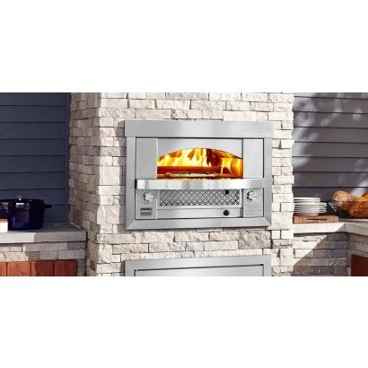afpobngs kalamazoo built  artisan fire pizza oven ng  stainless steel  wide
