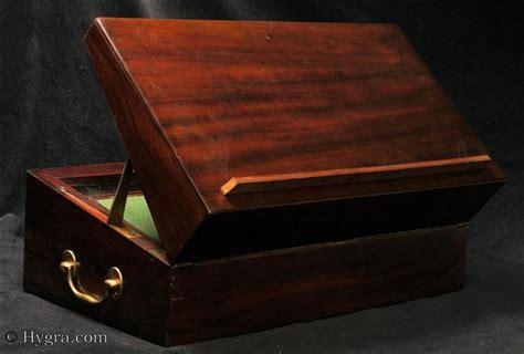 antique writing boxes  lap desks    antigone