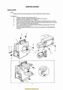 Janome New Home Jd 1812 Sewing Machine Service