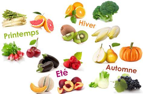 cuisine saine pourquoi cuisiner les fruits et légumes de saison
