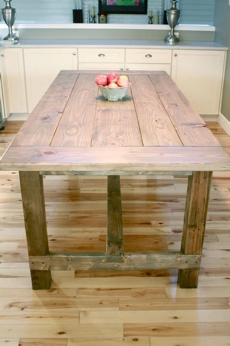 Ana White  Build A Farmhouse Table  Updated Pocket Hole