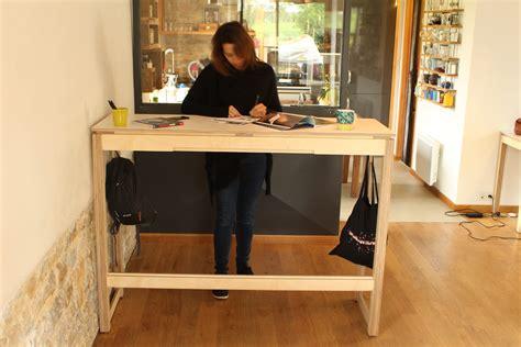 bureau debout bureau pour travailler debout un meuble esthétique
