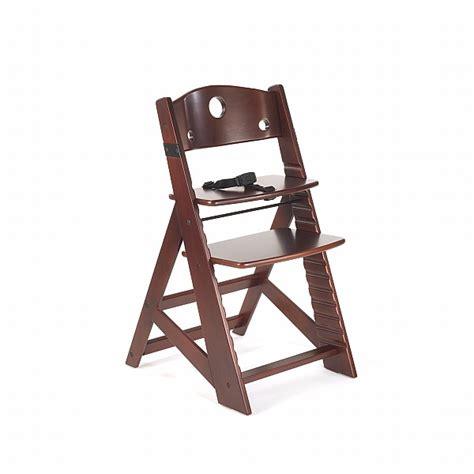keekaroo high chair keekaroo height right mahogany chair n cribs