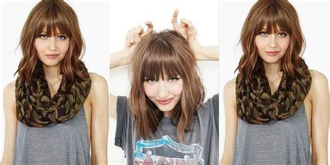 coiffure simple  faire pour cheveux mi long