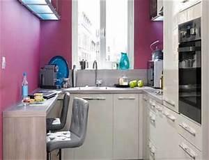 astuces deco pour agrandir une petite cuisine deco cool With plan de travail pour petite cuisine