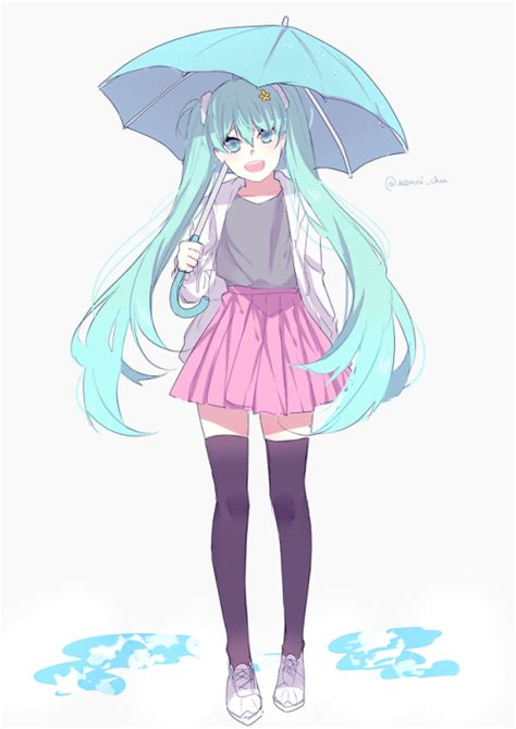 Melt Hatsune Miku Anime And Melt Hatsune Miku