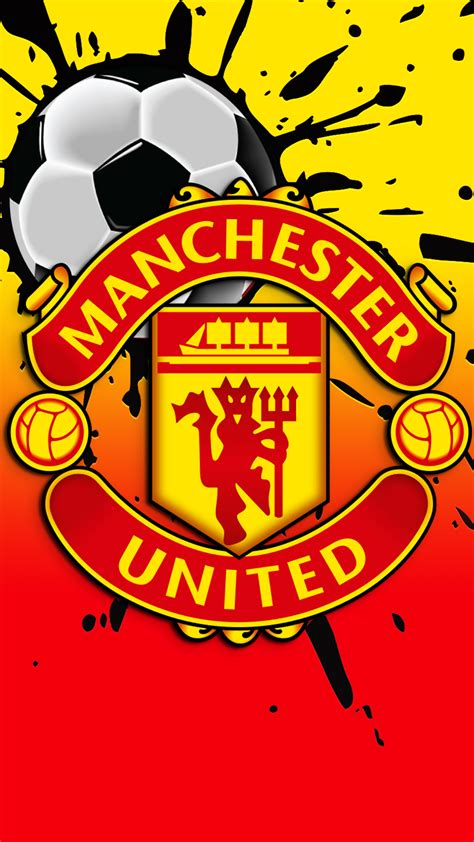 free hd manchester united fc iphone wallpaper for 0171