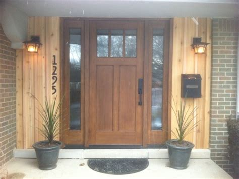 wood entry doors front doors contemporary entry detroit by fingerle
