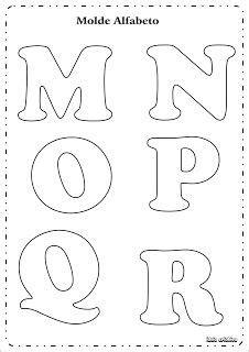 molde letras do alfabeto ideia criativa gi barbosa educa 231 227 o infantil betűk letras para