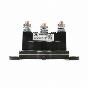 Cole Hersee Intermittent Motor Reversing Solenoid - Dpdt