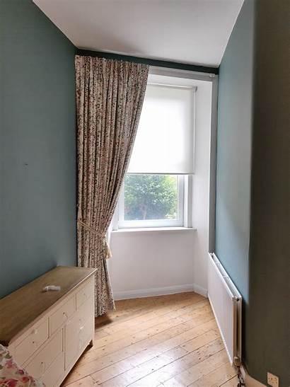 Bedroom Curtain Window Corner Single Edinburgh Viewforth