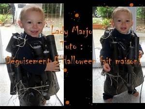 Déguisement Halloween Fait Maison : lady marjo tuto d guisement d 39 halloween fait main youtube ~ Melissatoandfro.com Idées de Décoration
