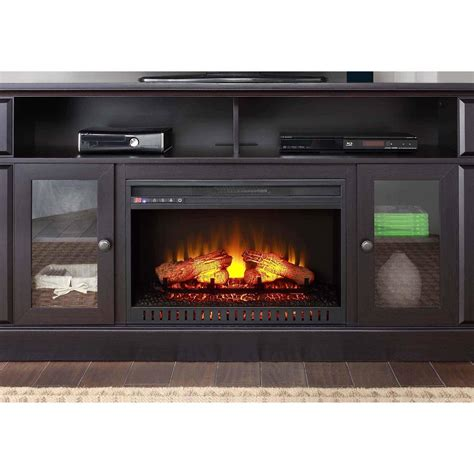 whalen fireplace tv stand whalen barston media fireplace for tv s up to 70