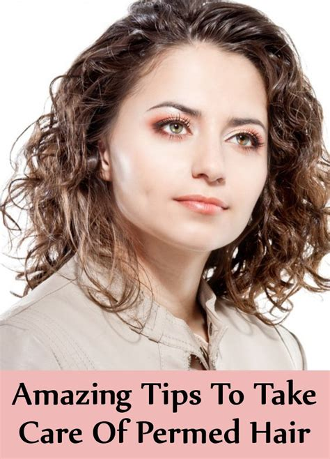 8 Amazing Tips To Take Care Of Permed Hair  Find Home