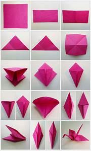 Origami Kranich Anleitung : diy origami kraniche als hochzeitsdekoration verr ckt nach hochzeit ~ Frokenaadalensverden.com Haus und Dekorationen